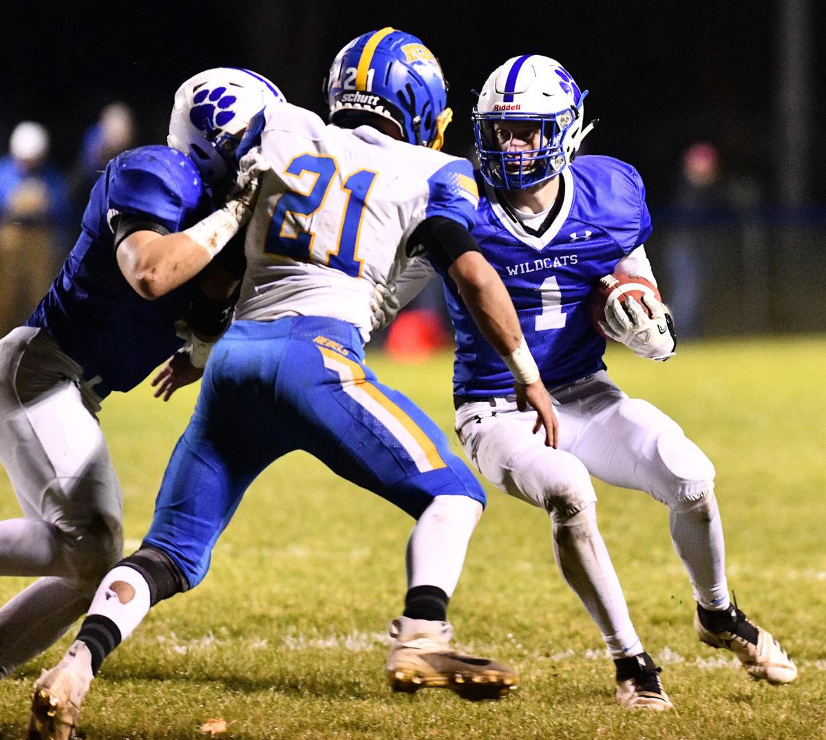 Woodbury Central vs Westwood football