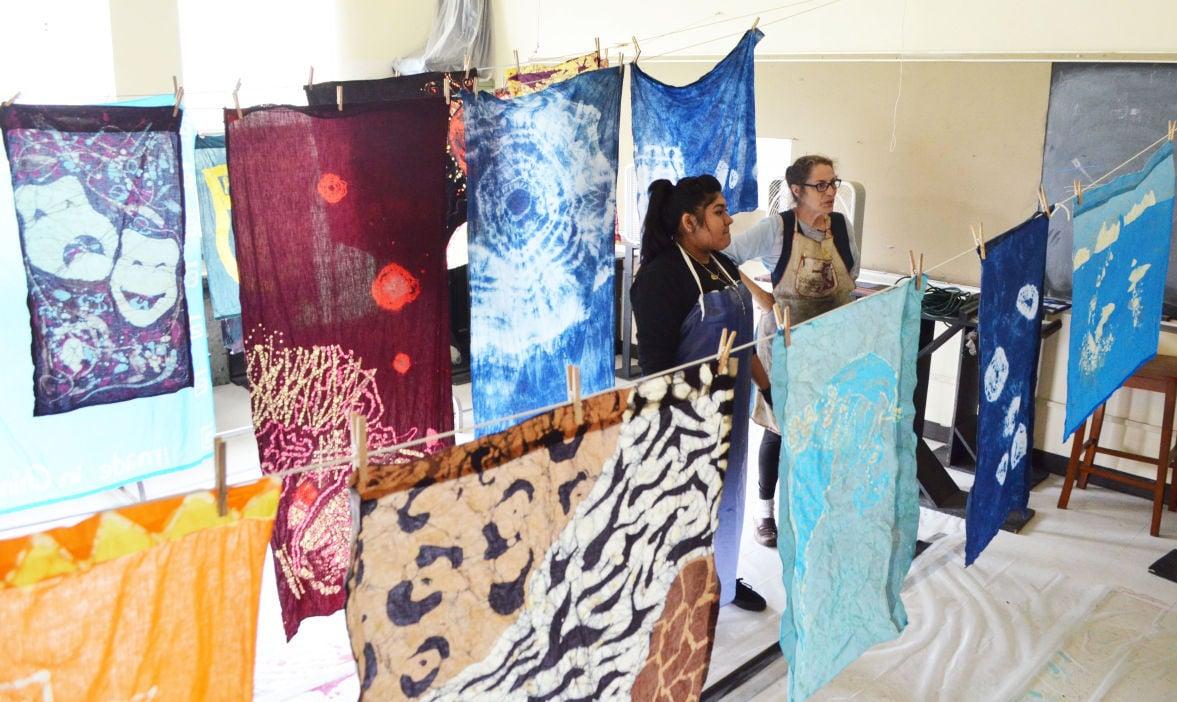 Batik & Tie-Dye Class