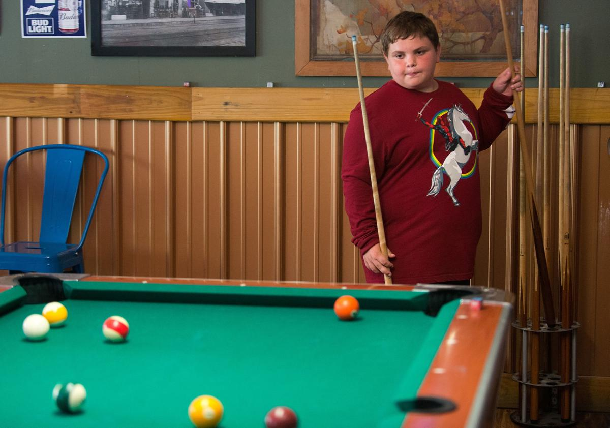 Youth pool players prepare for national tournament in South