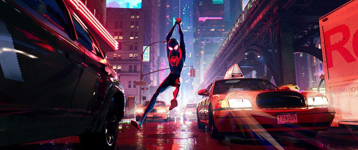 Spider-Man: Into the Spider-Verse scene