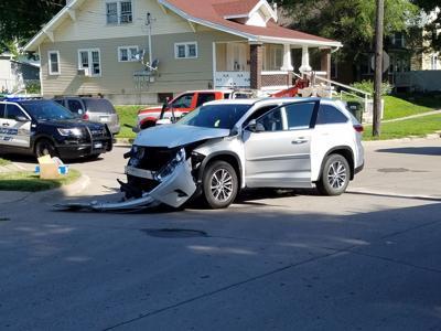 West side crash