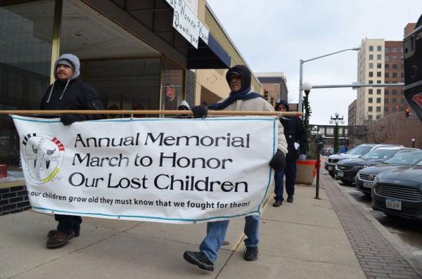 Lost Children march