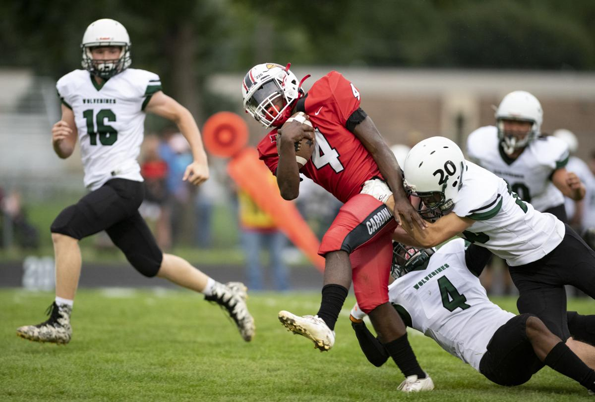 South Sioux City vs West football