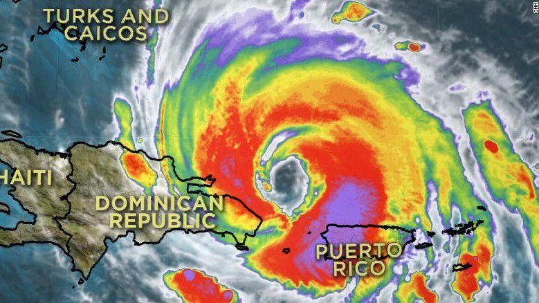 Hurricane Maria strengthens again as it heads toward Turks and Caicos