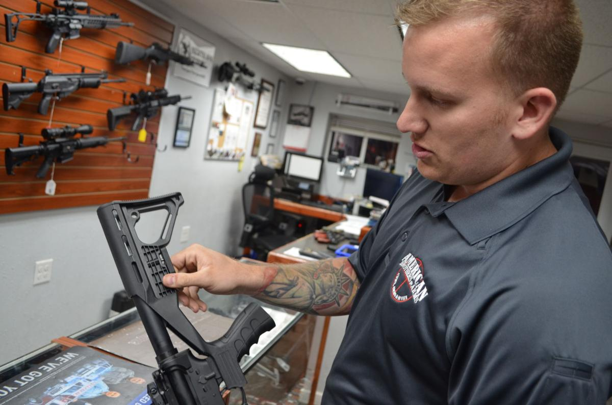 American Brothers in Arms bump stock