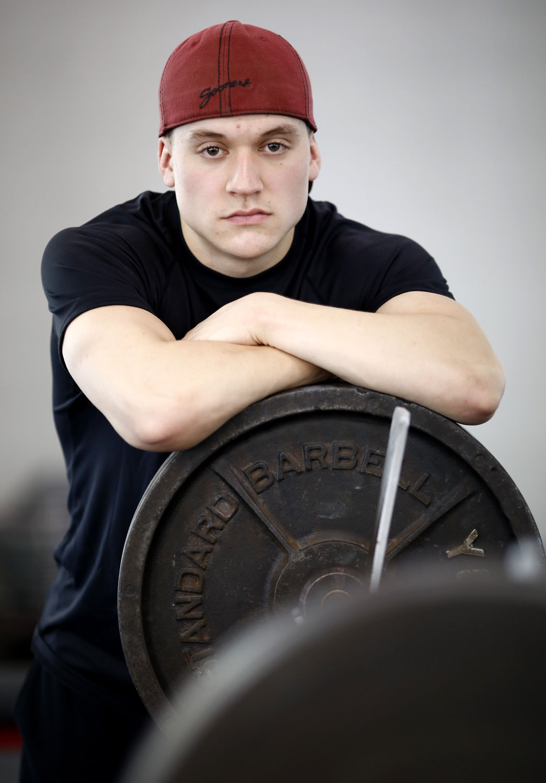Powerlifter Mason Cabney