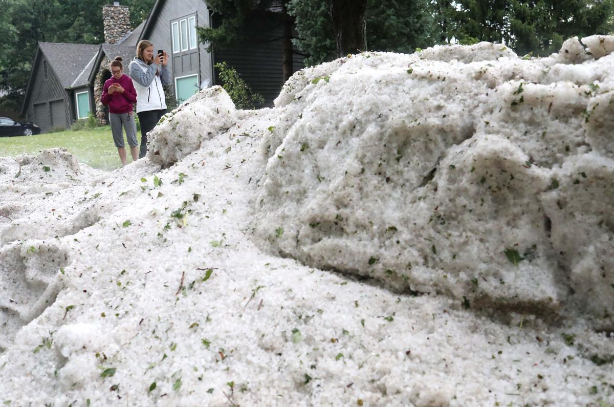 Hail in Sioux City