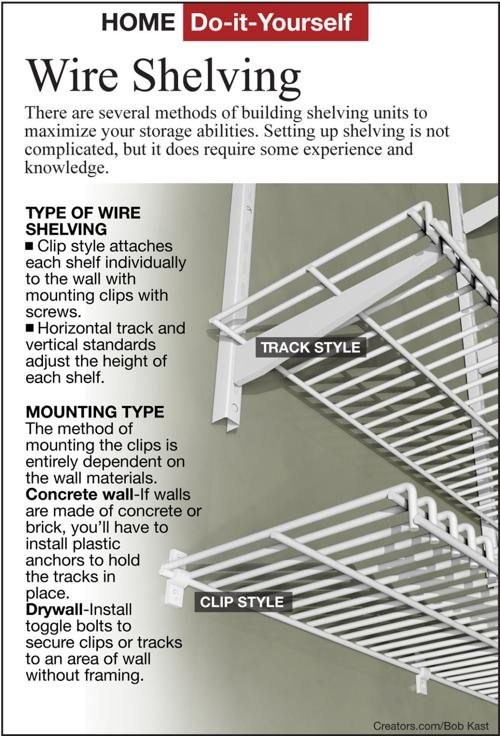 Increase Storage E With Simple To Install Wire Shelving