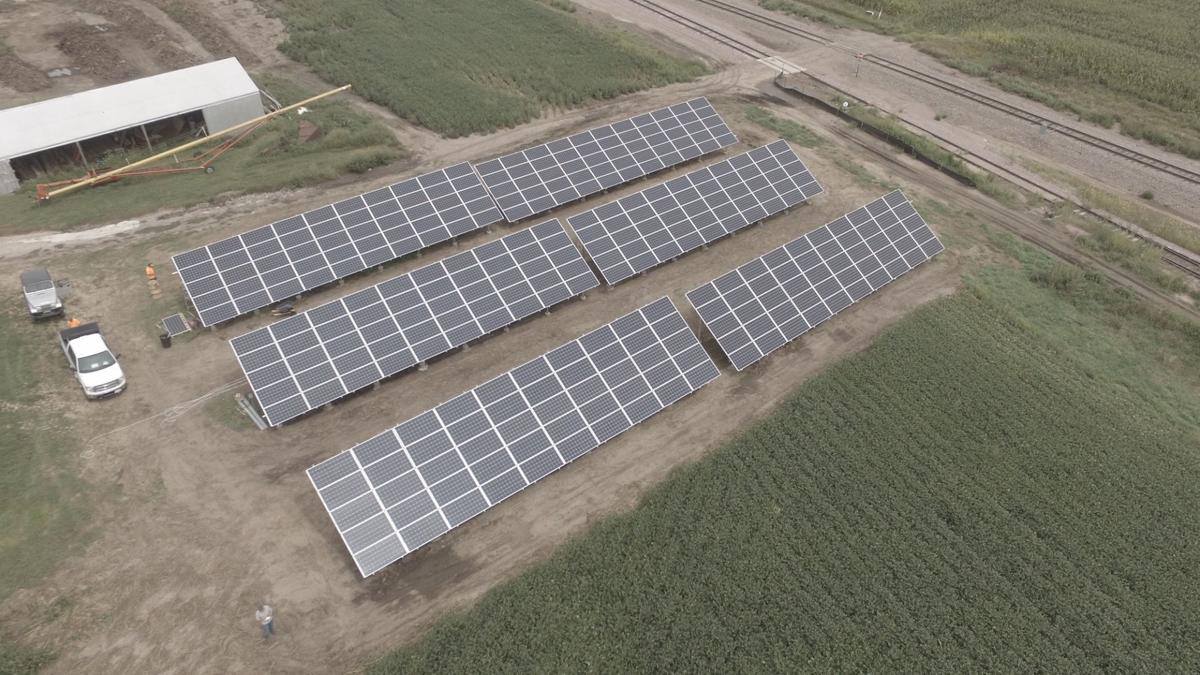 Merrill Solar project on farm