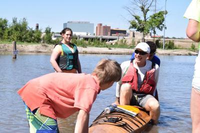 South Dakota Kayak Challenge contestant finished race
