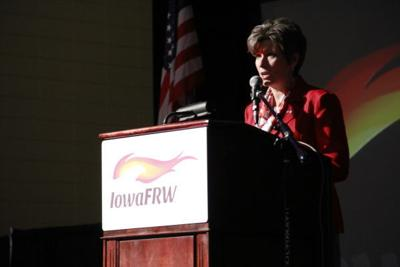 Joni Ernst at the Sioux City Convention Center