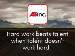 We think the sky is the limit for someone with a strong work ethic.