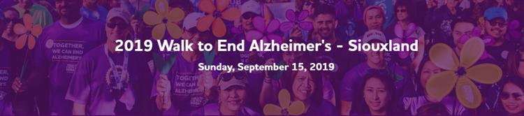 Walk to End Alzheimer's - Siouxland