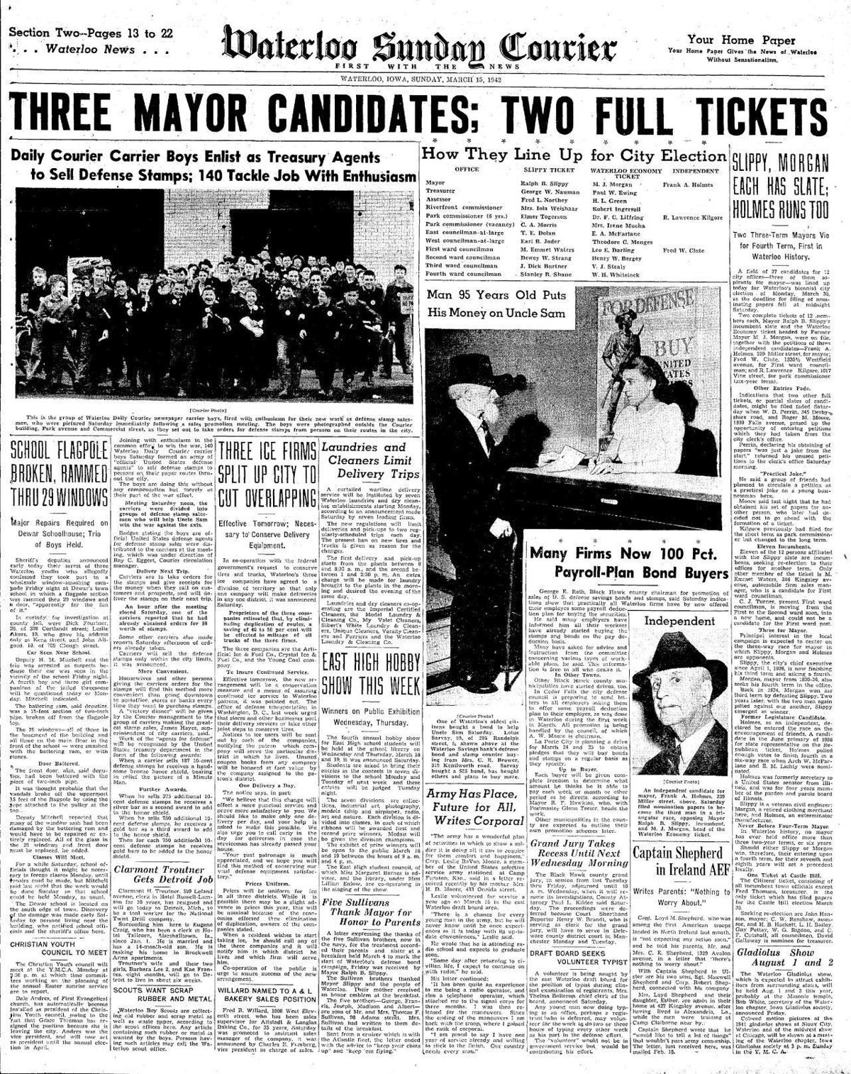 Courier March 15, 1942
