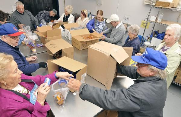 Food Bank of Siouxland backpack profram