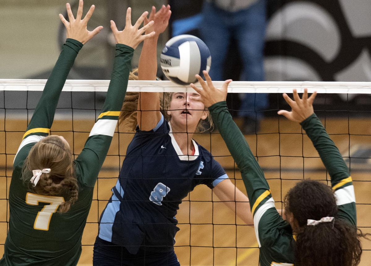 Unity Christian vs Gehlen Catholic volleyball