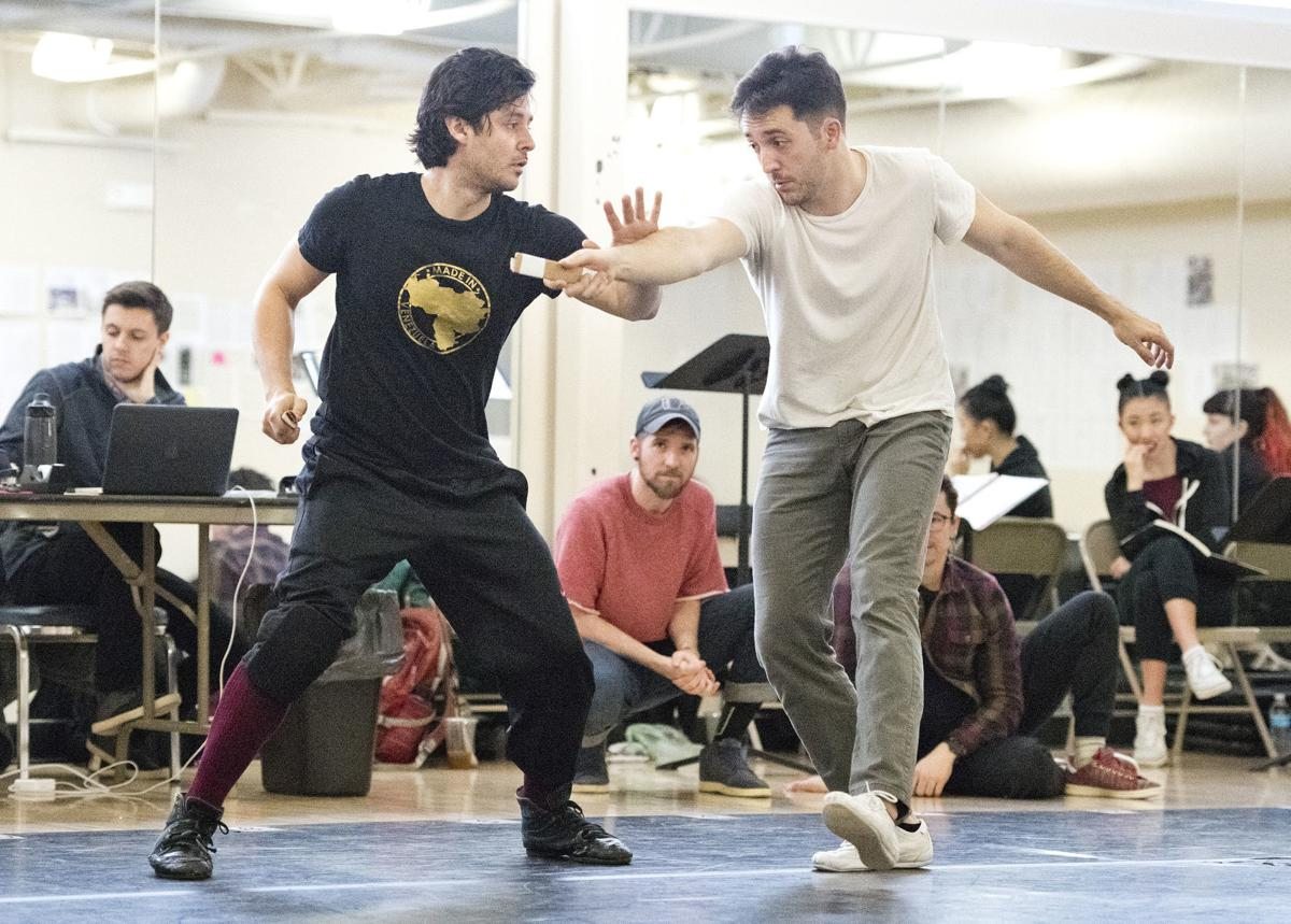 West Side Story rehearsal