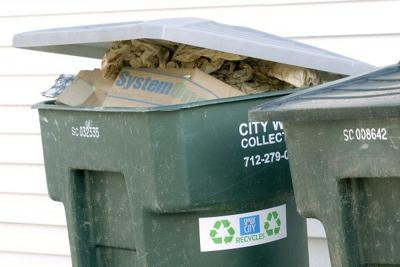Sioux city recycling stickers