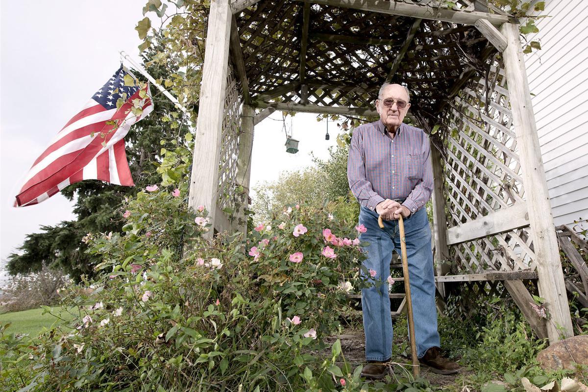 Korean War veteran Walter Block