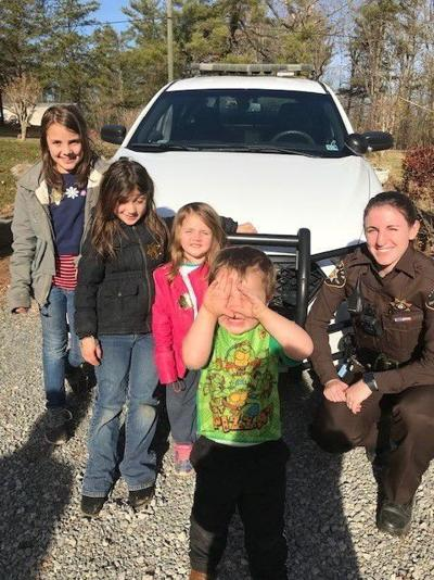 Sheriff's office makes girl's wish come true