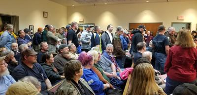 Gun supporters gather for supervisors meeting