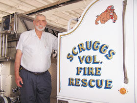 Longtime former chief of Scruggs Fire and Rescue dies