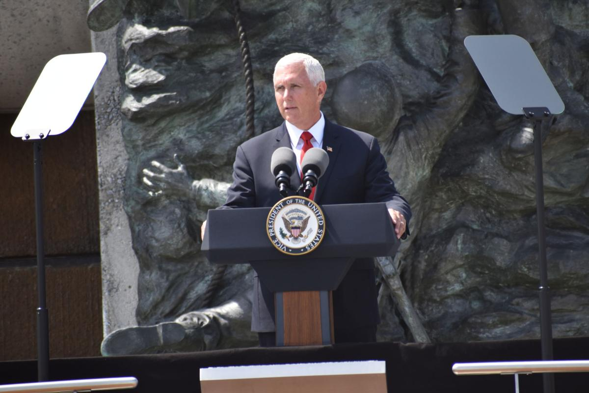 Pence speaks at D-Day Memorial for 75th anniversary