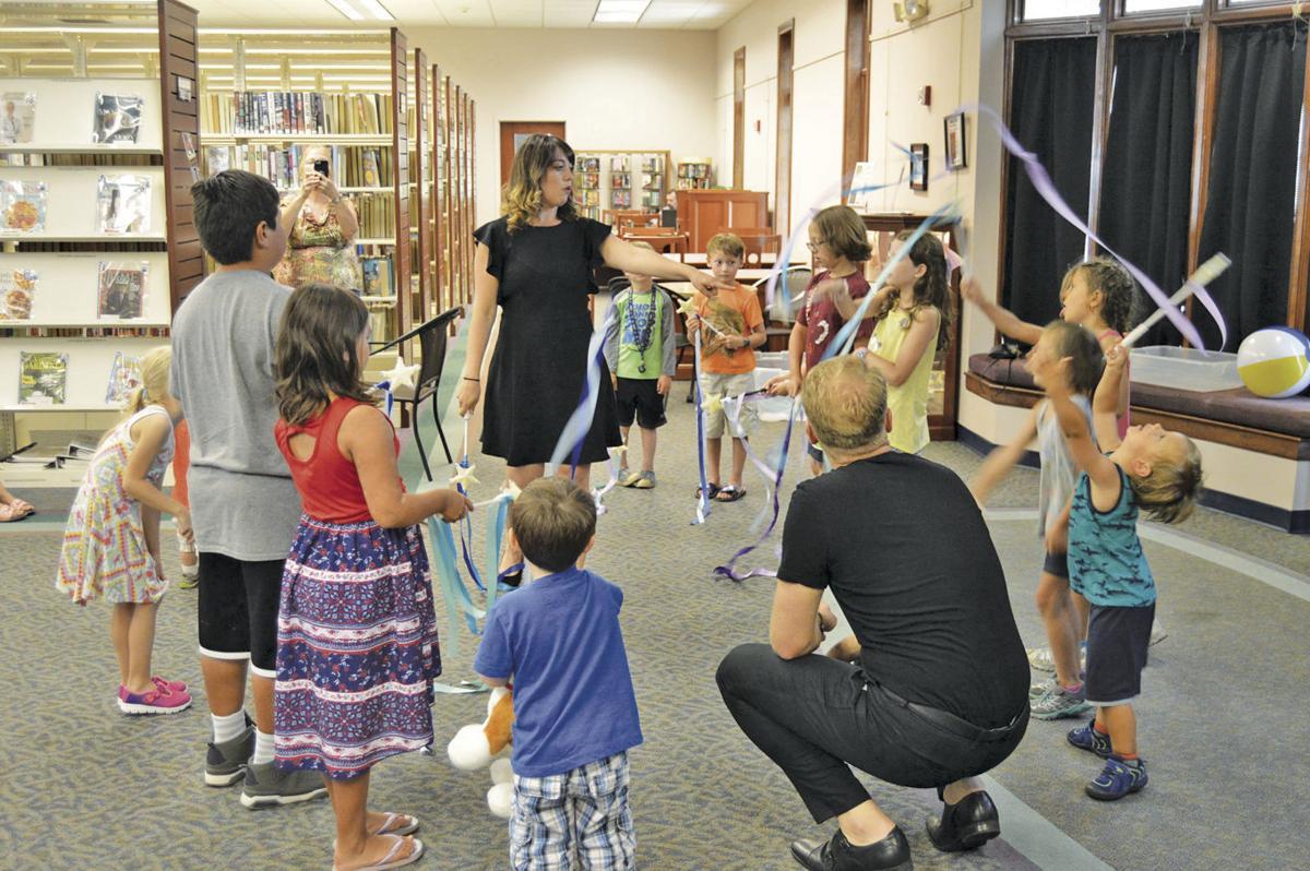Library hosts Kids on Broadway program