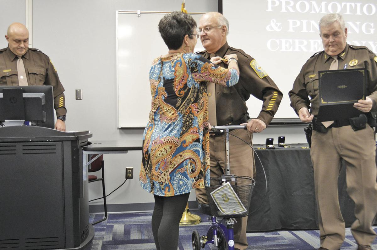 BCSO pins officers in ceremony
