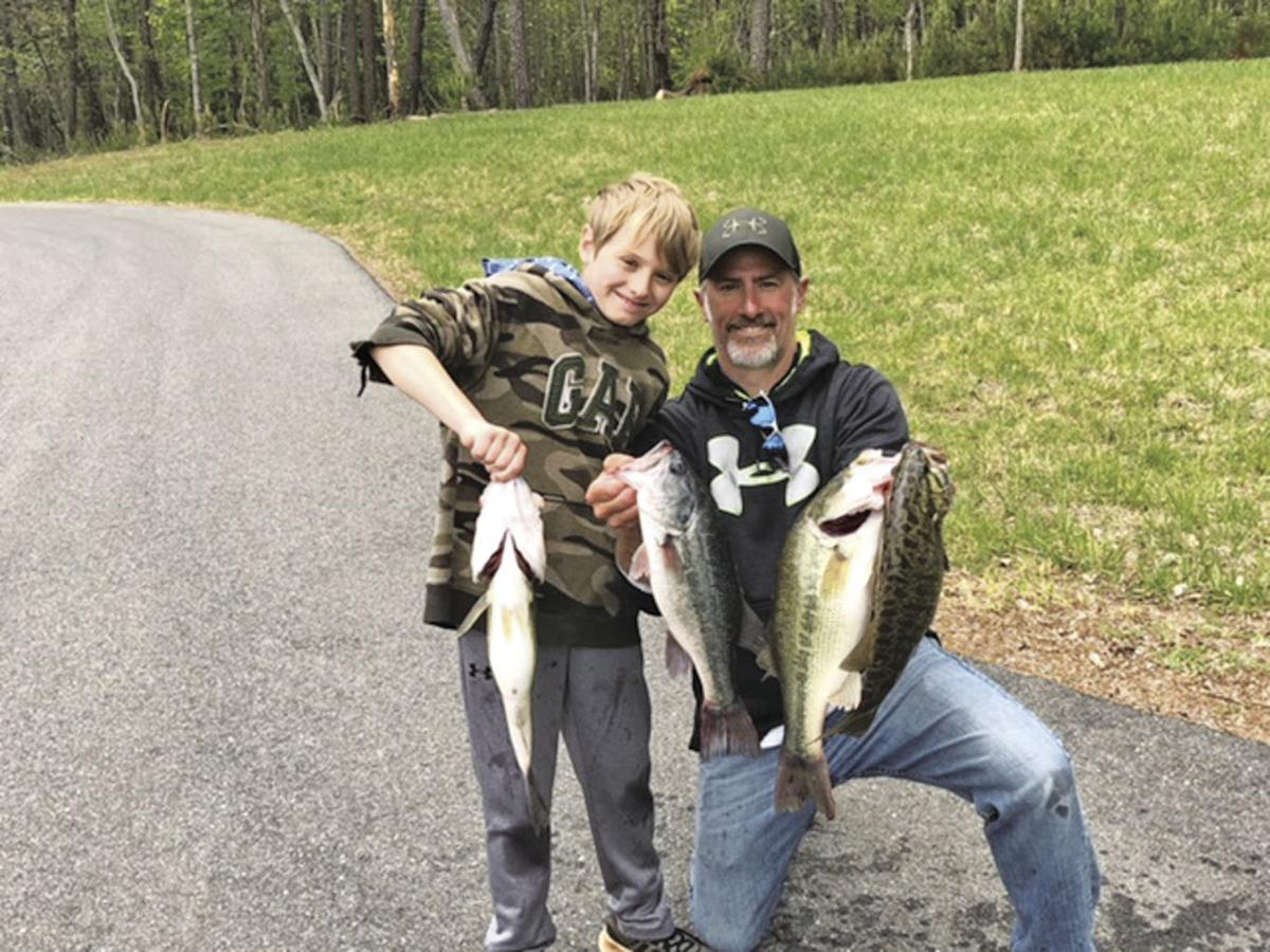 Father, son find success fishing