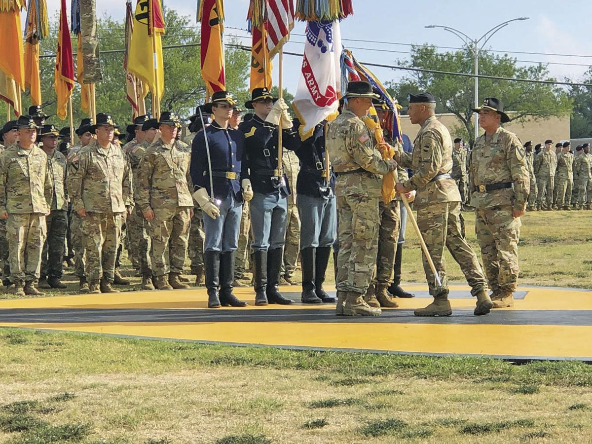 Broadwater takes command of 1st Cavalry