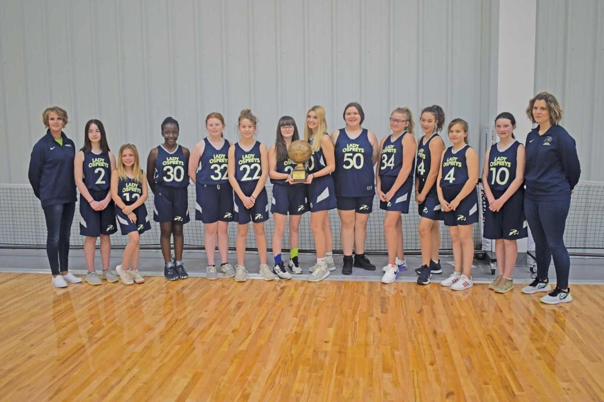 SMLCA middle school girls team