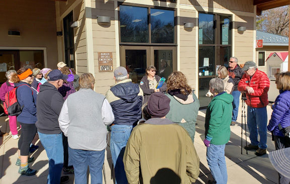 First Day Hike at SML State Park draws crowd
