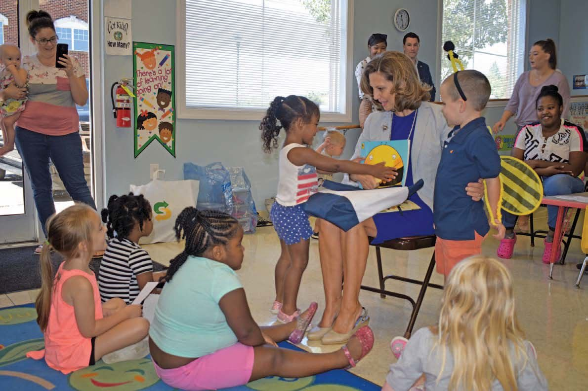 Virginia First Lady visits Moneta Head Start