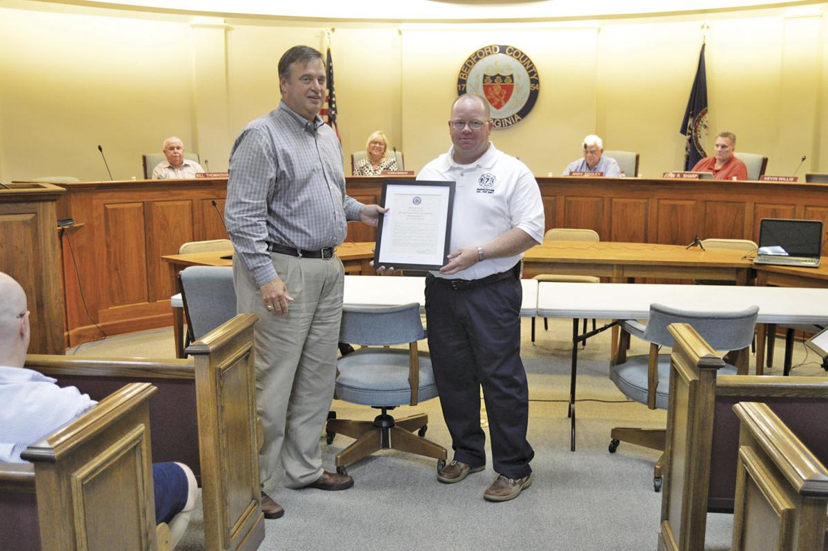 Huddleston Fire & Rescue recognized