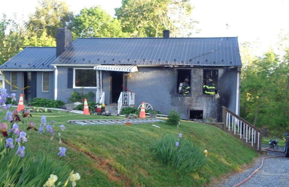 Joppa Mill Road house fire