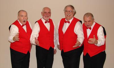 Harmeneers to deliver a Singing Valentine