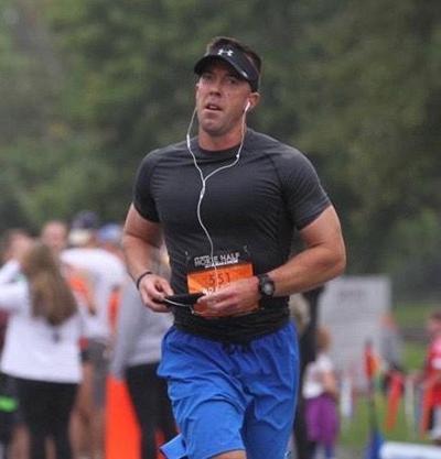 Officer runs 5K for first responders memorial