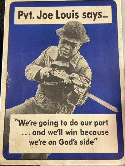 Joe Louis WWII poster