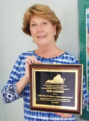 Gardner honored with award