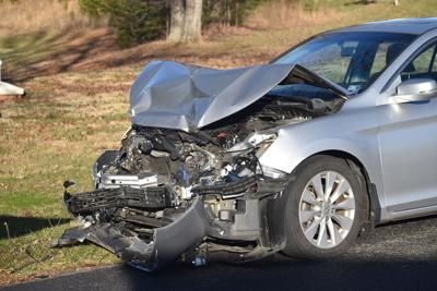Vehicle in accident