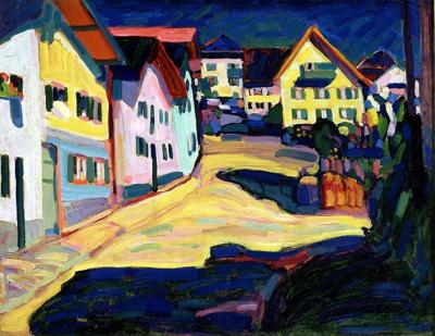 Painting by Wassily Kandinsky, 1908