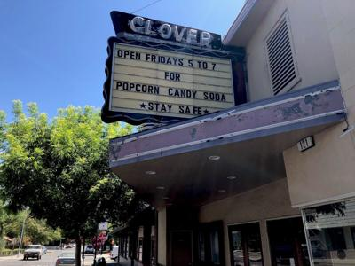 Clover Theater marquee