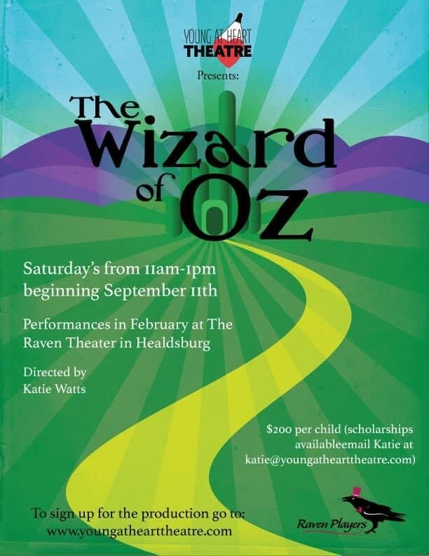 The Wizard of Oz - Young At Heart Theatre