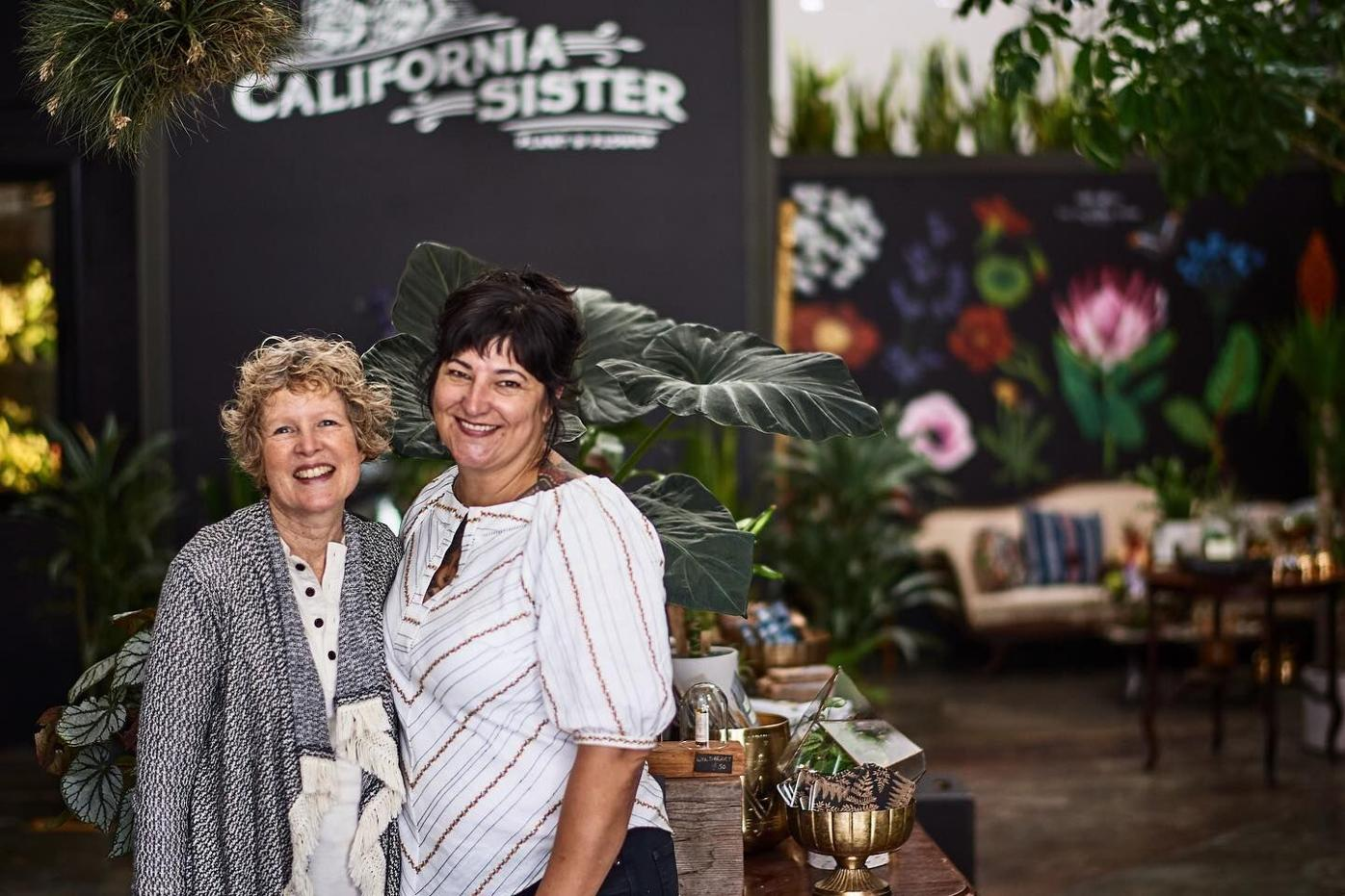 California Sister co-owners Kathrin Green and Nichole Skalski