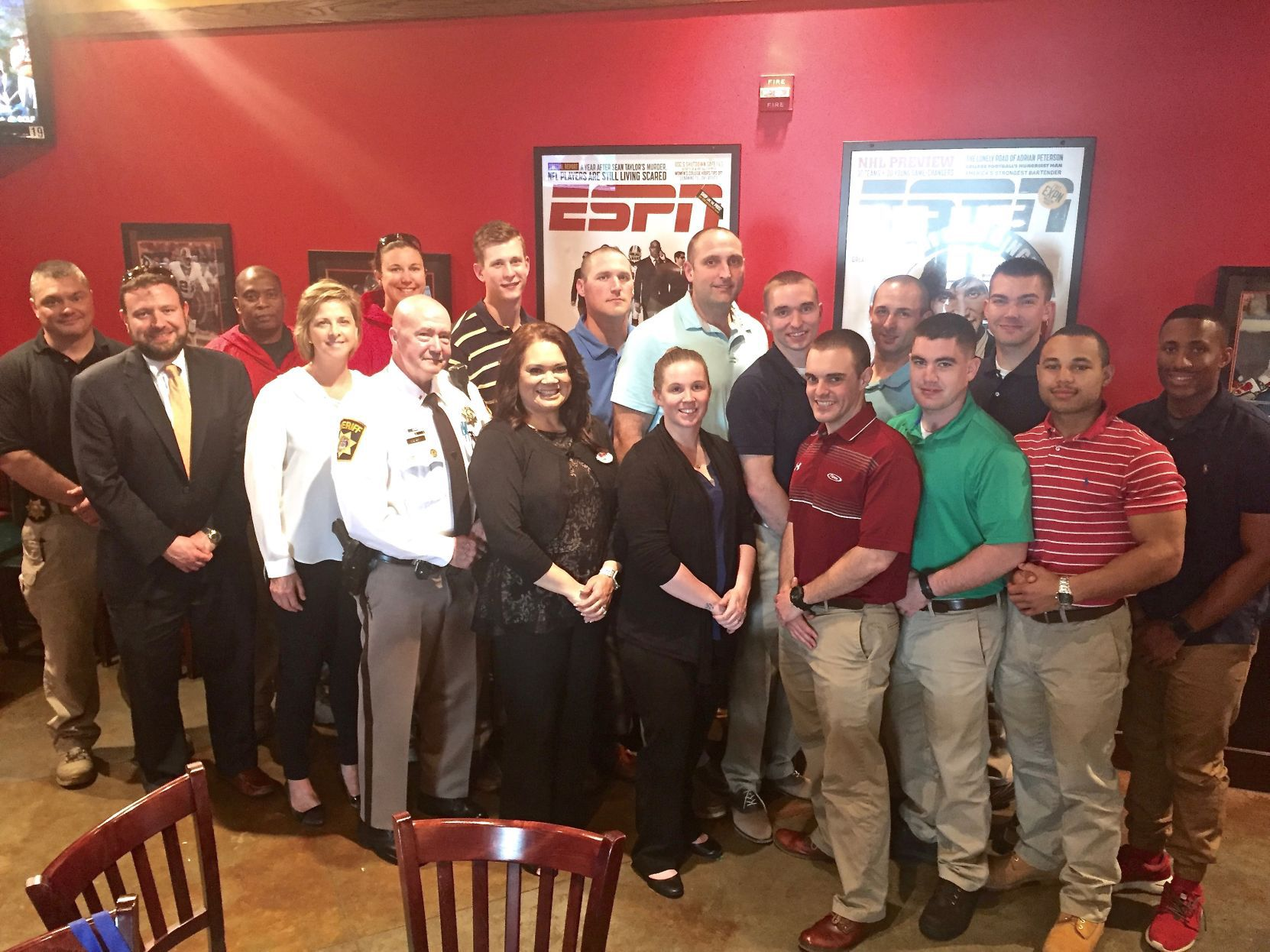 The Southern Maryland Criminal Justice Academy class