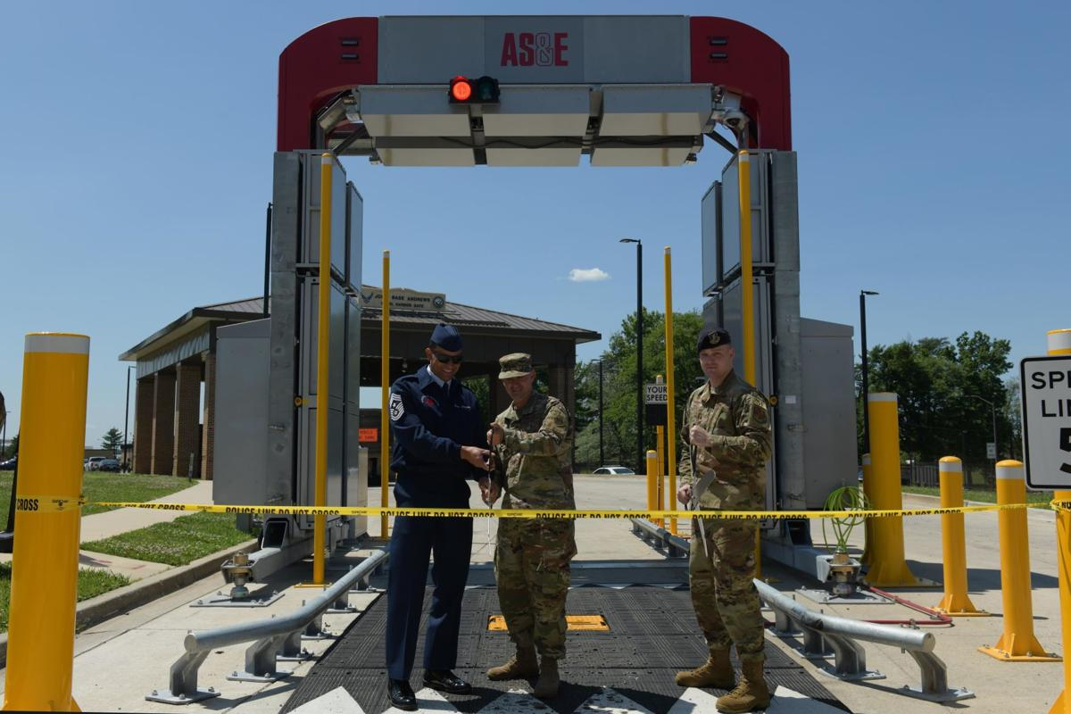 Joint Base Andrews cuts ribbon on giant X-ray