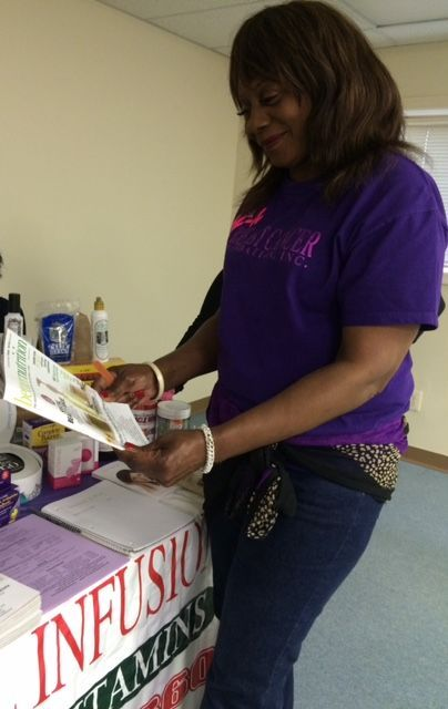 Doretha Burrell at the 'In the Know' event last Saturday