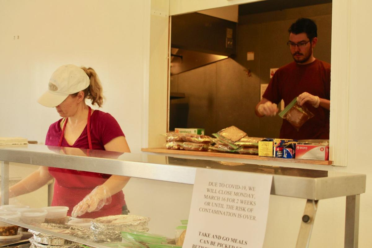 St. Mary's Caring prepares hot meals