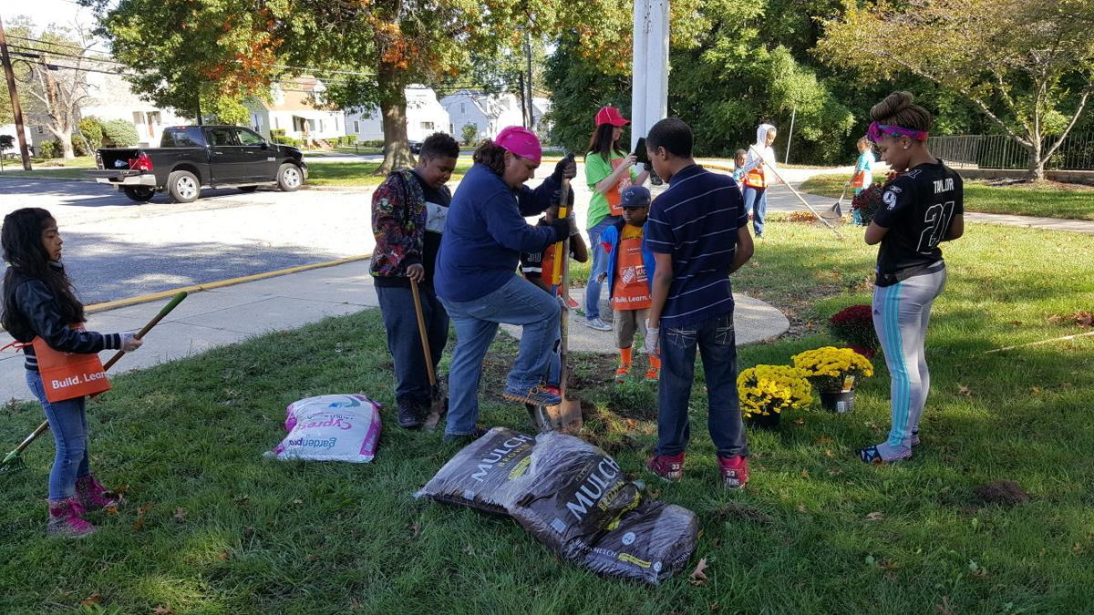 Temple Hills elementary school gets beautified